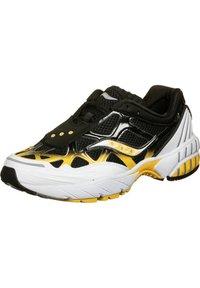 Saucony - SCHUHE GRID WEB - Sneaker low - white/black/yellow - 2