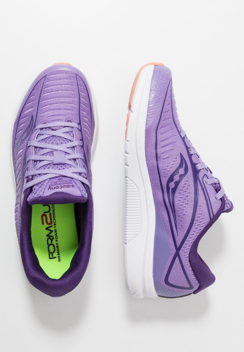 Saucony - KINVARA 10 - Zapatillas - purple/white