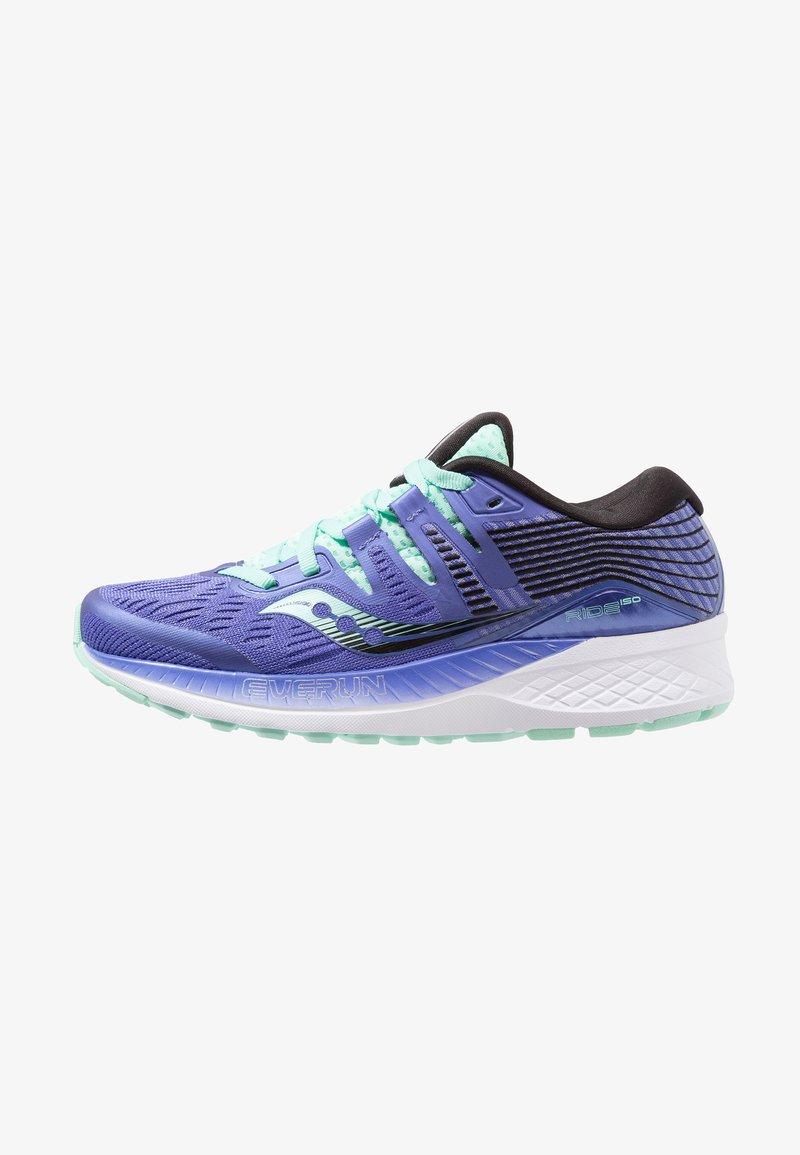 Saucony - RIDE ISO - Scarpe running neutre - violet/black/aqua