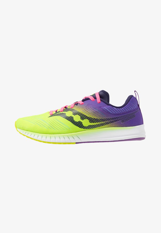 FASTWITCH 9 - Competition running shoes - citron