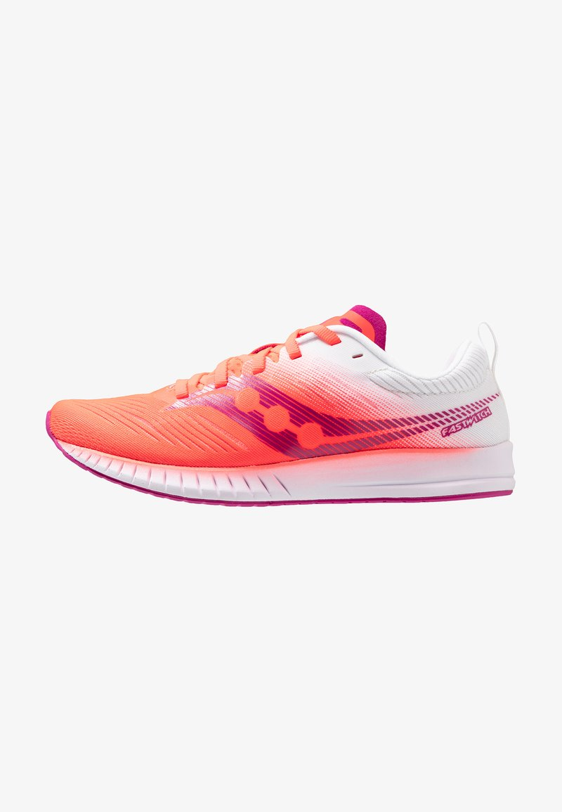 Saucony - FASTWITCH 9 - Competition running shoes - vizired/white