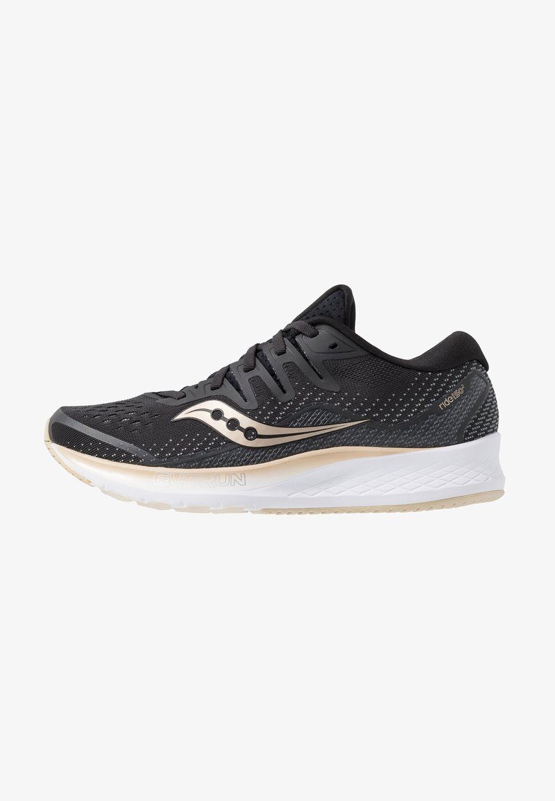 Saucony - RIDE ISO 2 - Laufschuh Neutral - black/gold
