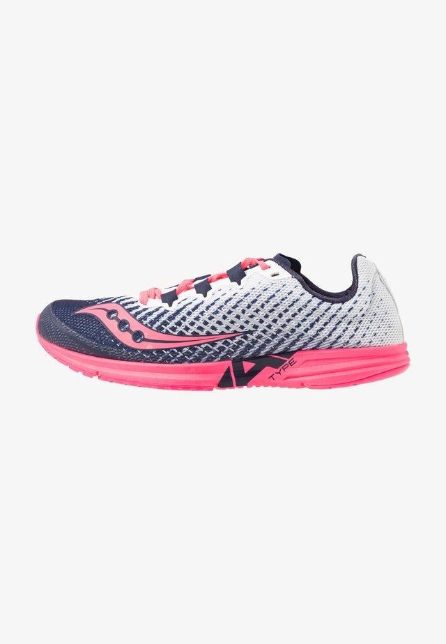TYPE A9 - Závodní běžecké boty - white/vizipink