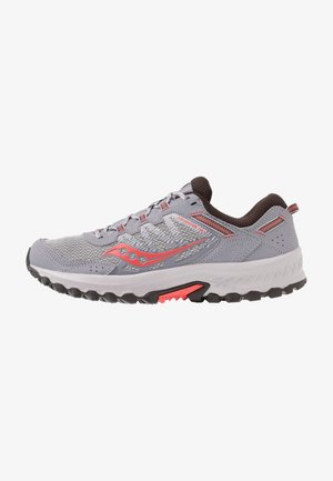 EXCURSION TR - Sports shoes - grey/coral