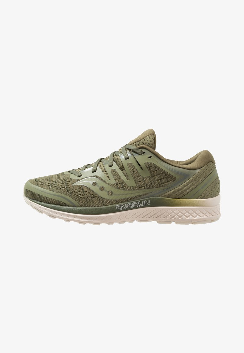 Saucony - GUIDE ISO 2 - Stabilty running shoes - olive shade