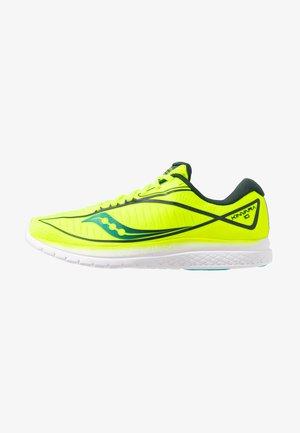 KINVARA 10 - Neutrální běžecké boty - citron/teal