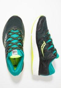 Saucony - HURRICANE ISO 5 - Zapatillas de running estables - green/teal - 1