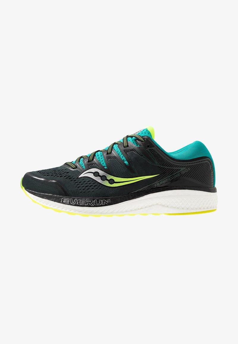 Saucony - HURRICANE ISO 5 - Zapatillas de running estables - green/teal