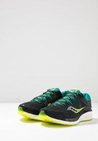 Saucony - HURRICANE ISO 5 - Zapatillas de running estables - green/teal - 2
