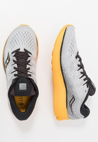 Saucony - RIDE ISO 2 - Neutrale løbesko - grey/yellow - 1