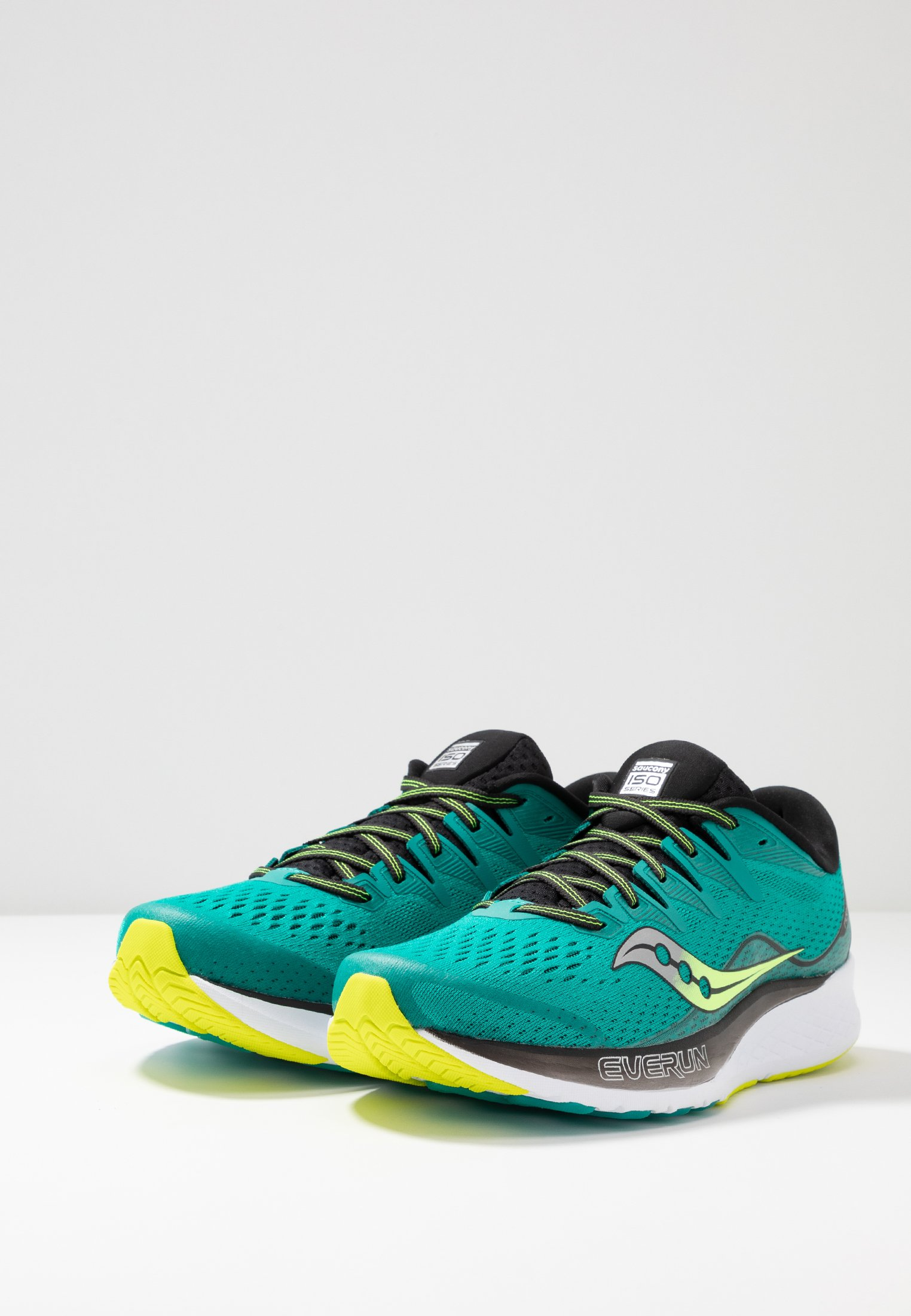 2Chaussures Neutres black Saucony Teal Running Iso Ride De TJFc1Kl