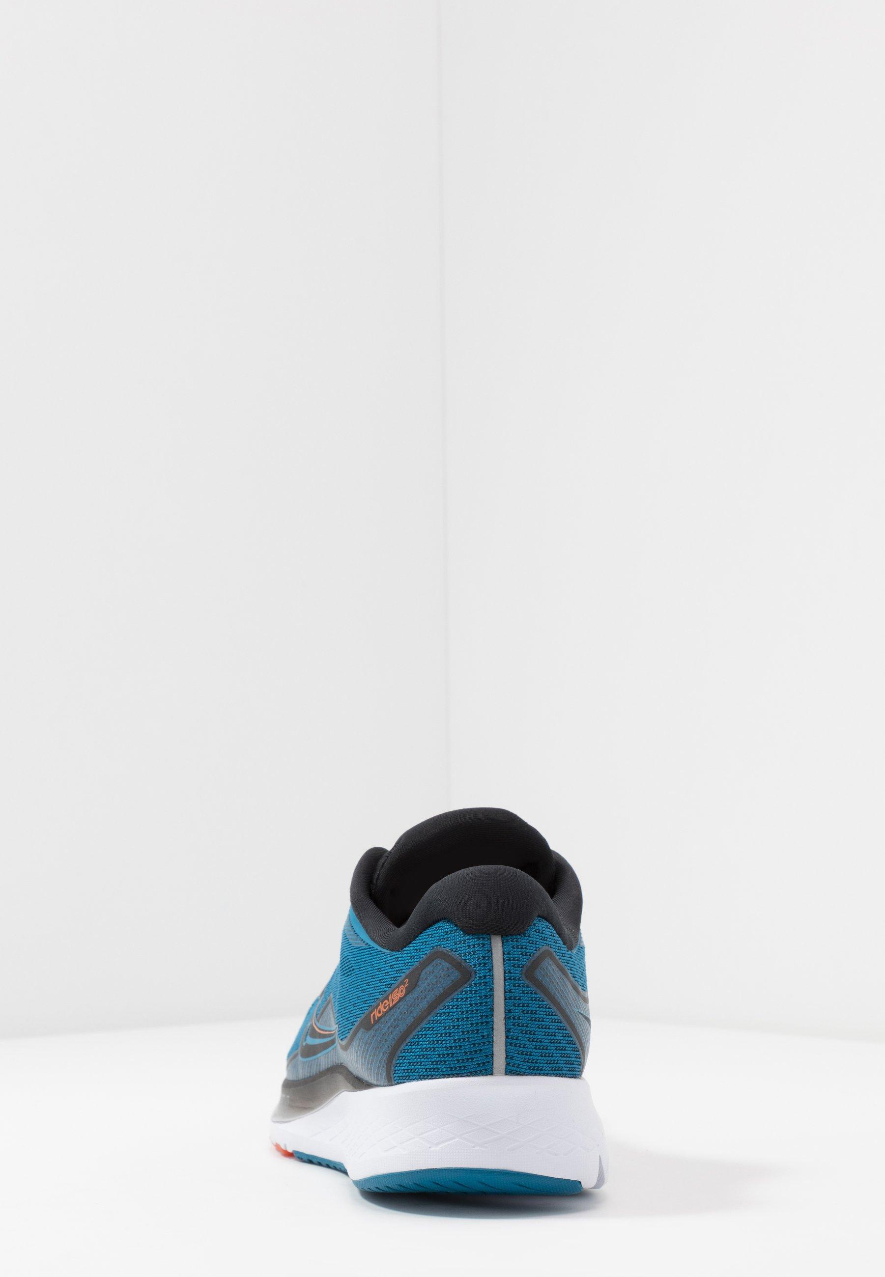 Saucony Ride Iso 2 - Neutrala Löparskor Black/blue