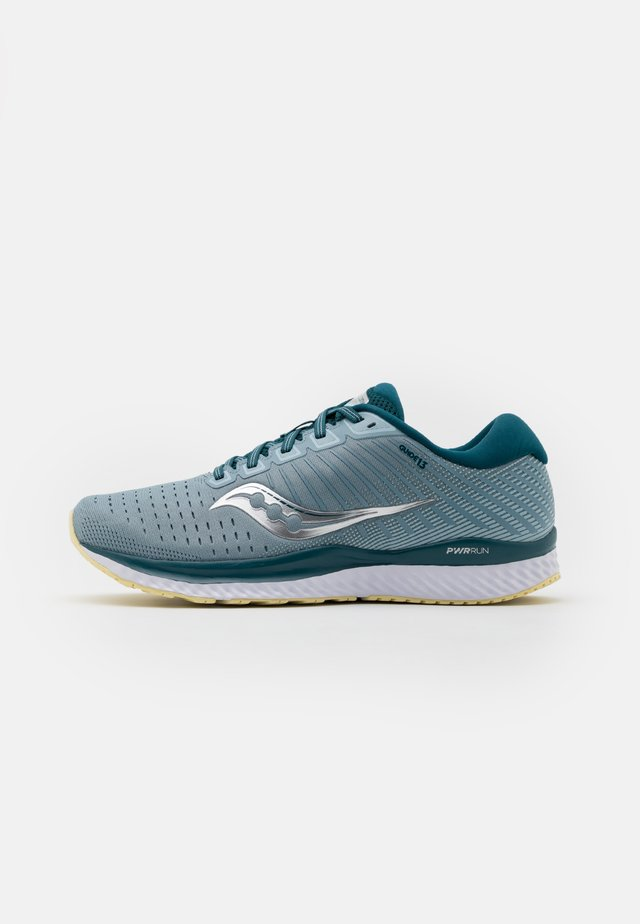 GUIDE 13 - Stabilty running shoes - mineral/deep teal