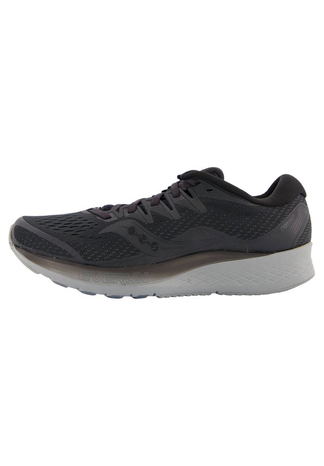"SAUCONY HERREN LAUFSCHUHE ""RIDE ISO 2"" - Neutral running shoes - schwarz/grau (718)"