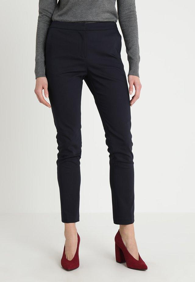 PANTS ELASTIC WAISTBAND - Spodnie materiałowe - dark blue