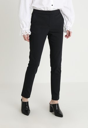 PANTS ELASTIC WAISTBAND - Bukse - black
