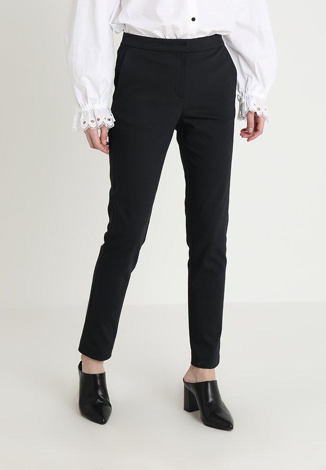 PANTS ELASTIC WAISTBAND - Kalhoty - black