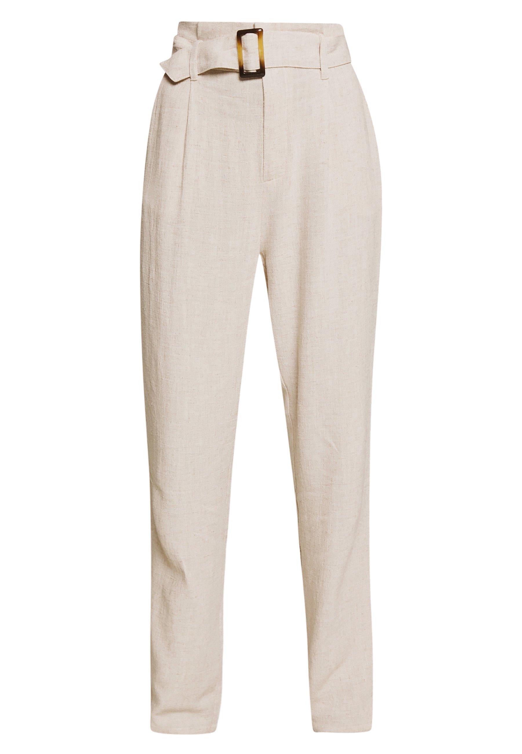 Saint Tropez RUBYSZ PANTS - Spodnie materiałowe - smoke