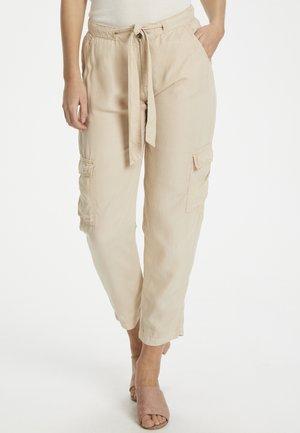 EMMASZ  - Trousers - beige