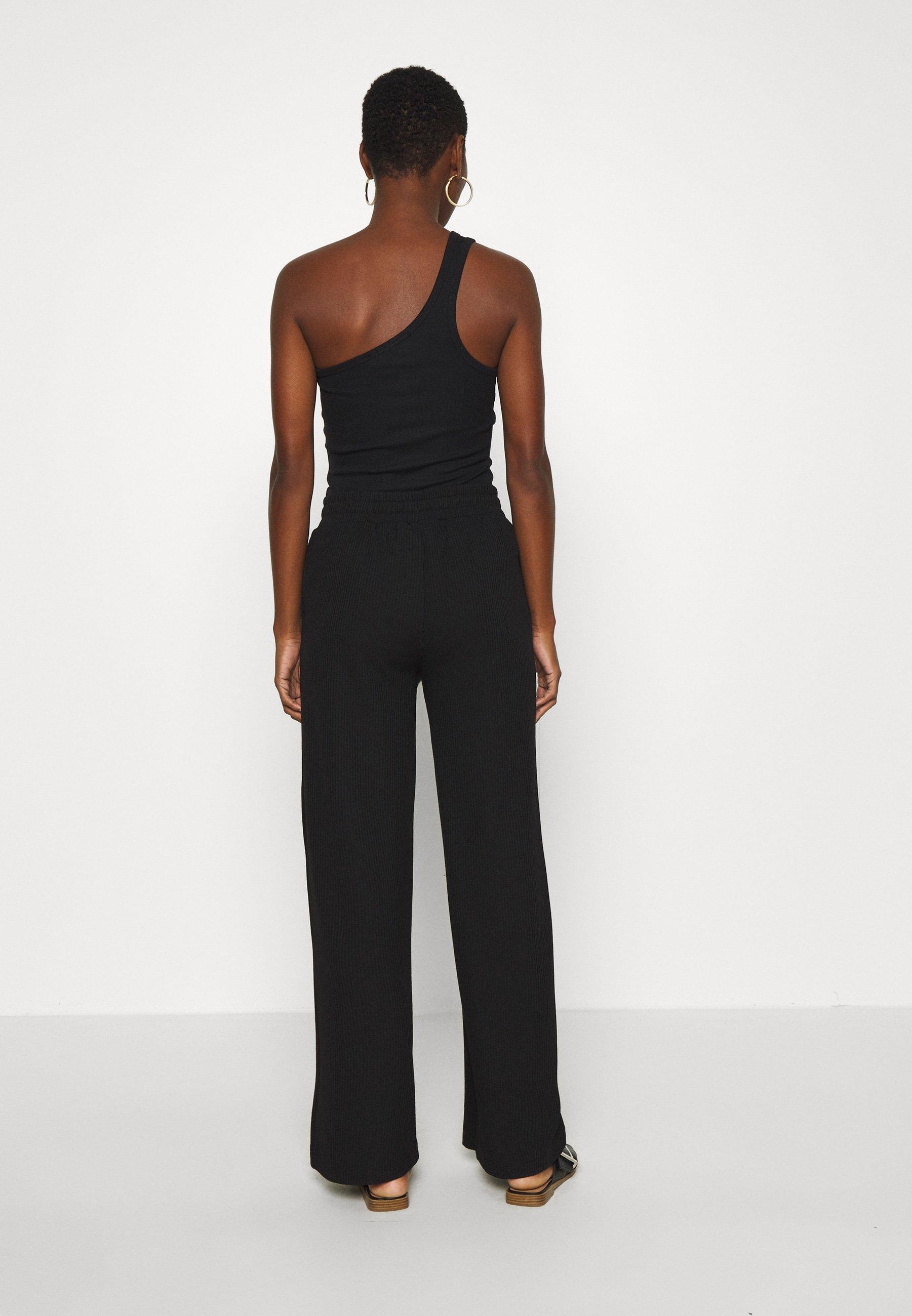 Saint Tropez Beathe Long Pants - Bukser Black