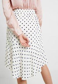 Saint Tropez - SKIRT DOTS - A-line skirt - ice - 4