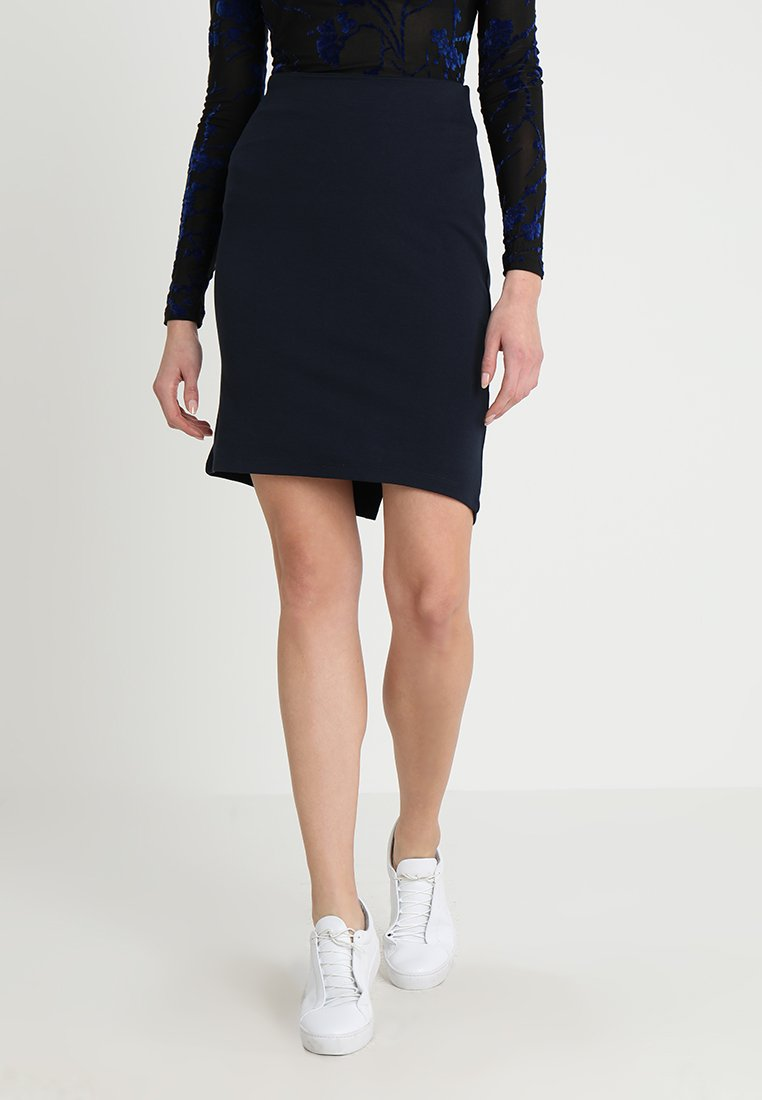 Saint Tropez - PENCIL SKIRT - Pencil skirt - dark blue
