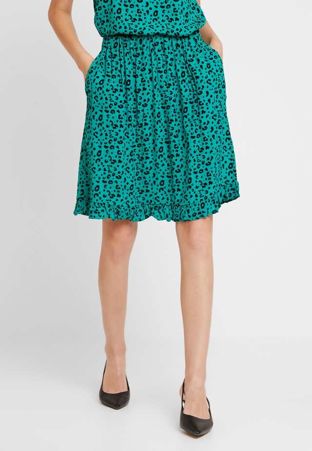 SKIRT ABOVE KNEE - A-Linien-Rock - greenlake