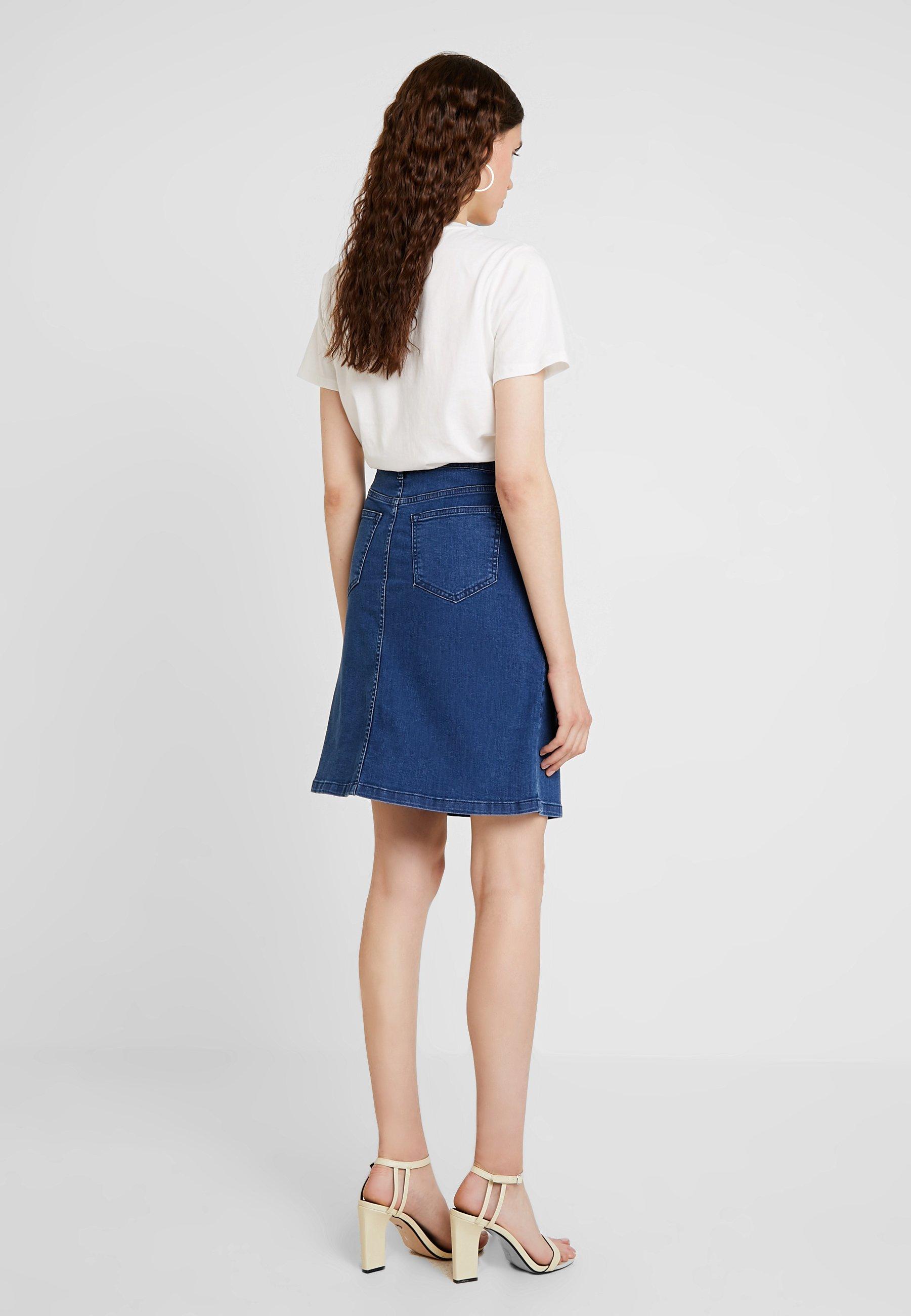 Campana Med Skirt Saint Blue A Above Tropez KneeGonna fmI7yYb6gv