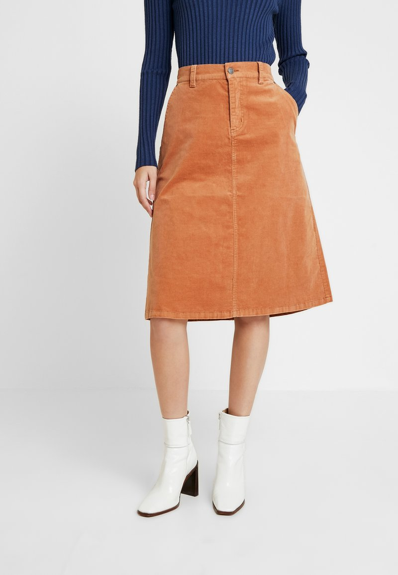 Saint Tropez - SKIRT BELLOW KNEE - A-line skirt - arganoil