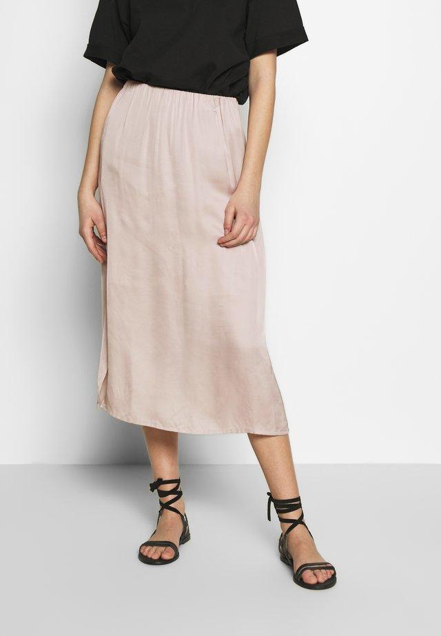 GITASZ SKIRT - A-line skirt - cloud gray