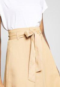 Saint Tropez - ELLYSZ SKIRT - A-line skirt - iced coffee - 4