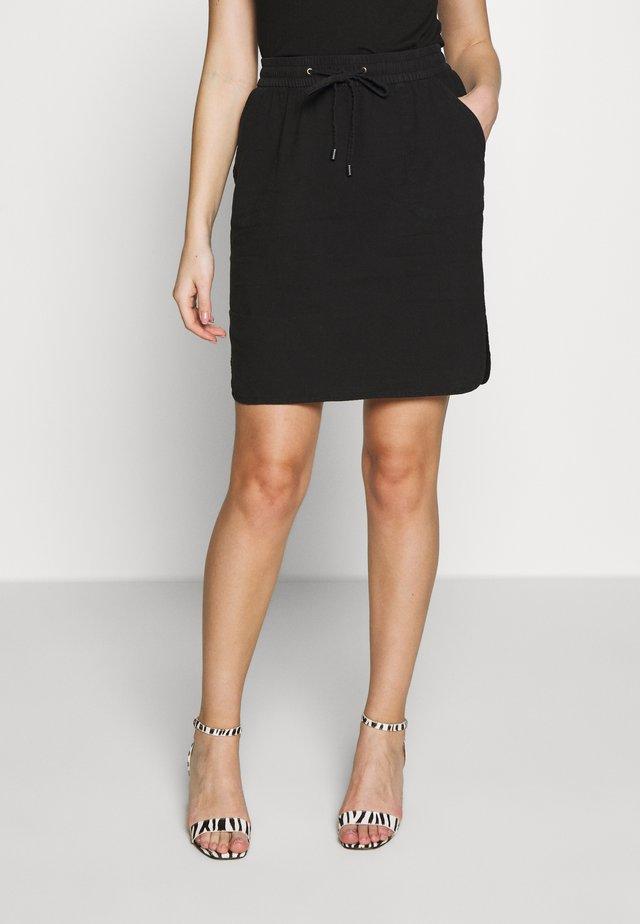 KATESZ SKIRT - Áčková sukně - black