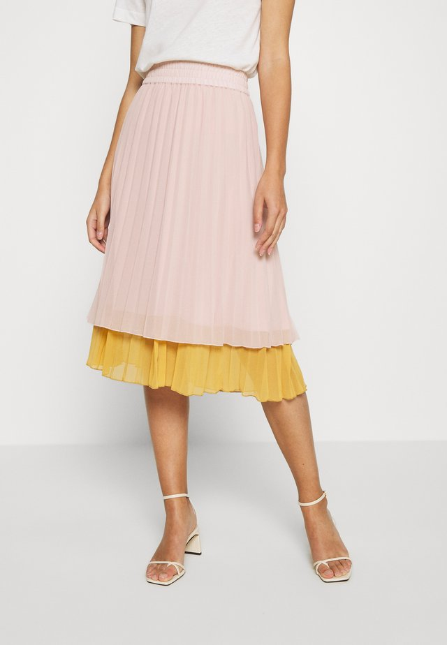 BENEDICT SKIRT CALF - A-Linien-Rock - rose