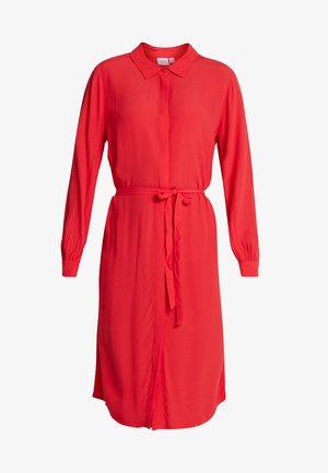DRESS - Vestido camisero - tomato