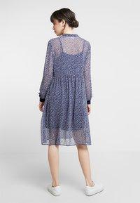 Saint Tropez - DAISY DRESS - Blousejurk - blue - 2