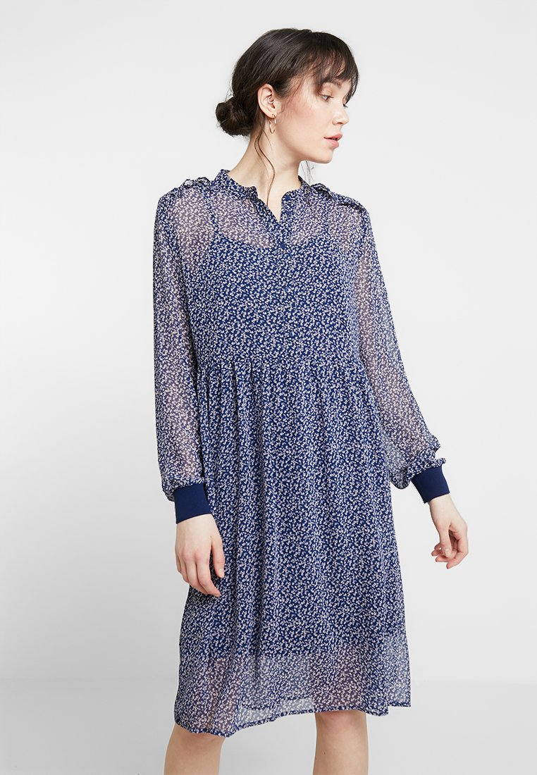 Saint Tropez - DAISY DRESS - Skjortekjole - blue