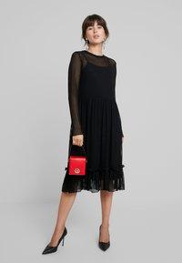 Saint Tropez - STRIPED DRESS - Korte jurk - black - 2