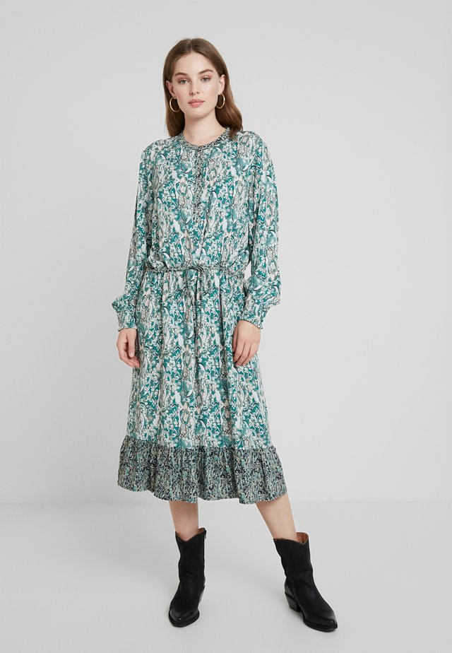 DRESS BELLOW KNEE - Sukienka letnia - evergreen
