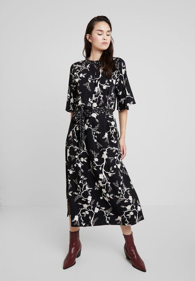 DRESS SLEEVE - Maxi dress - black