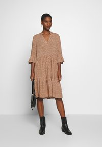 Saint Tropez - EDA DRESS - Maxi dress - tan/pebbles
