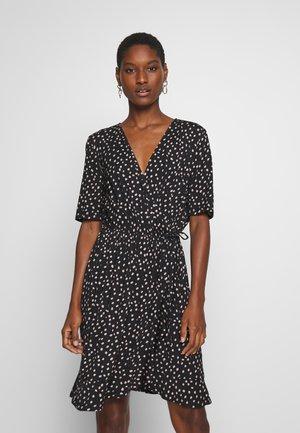 MINA DRESS ABOVE KNEE - Jerseykjole - black