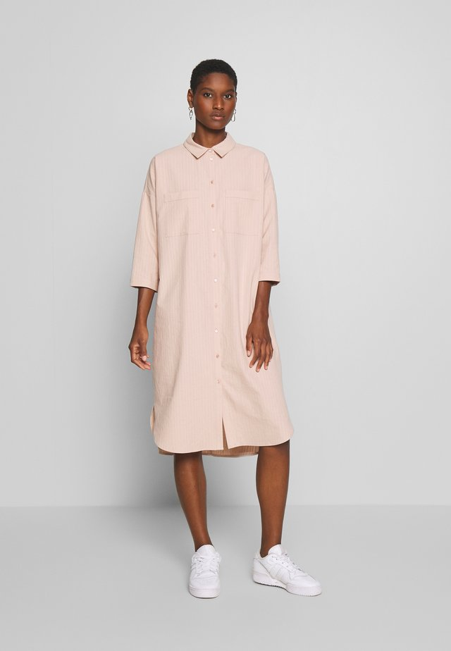 LIVA DRESS - Shirt dress - rose dust