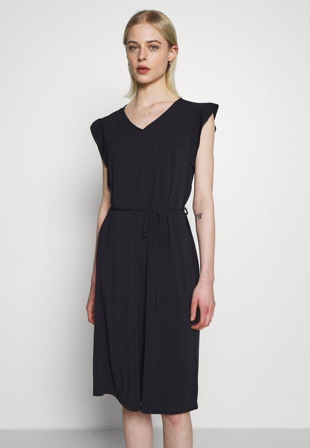 DRESS - Jersey dress - blue deep