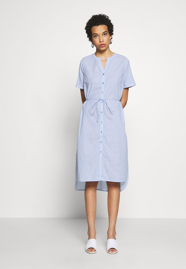 AFIASZ DRESS - Skjortekjole - cerulean