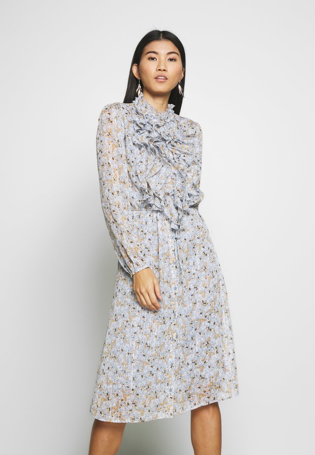 ULI DRESS - Shirt dress - ashley blue flower bed