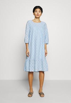 UMAYSZ DRESS - Day dress - chambray blue