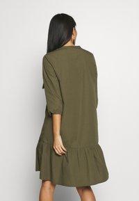 Saint Tropez - UZMA DRESS - Day dress - army green - 2