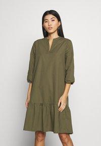 Saint Tropez - UZMA DRESS - Day dress - army green - 0