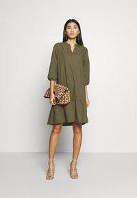 Saint Tropez - UZMA DRESS - Day dress - army green - 1