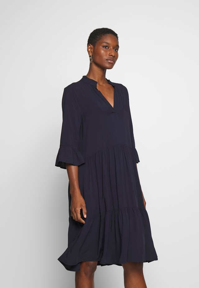 EDASZ SOLID DRESS - Hverdagskjoler - blue deep